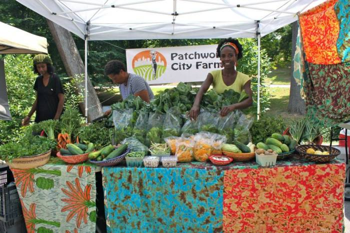 The resplendent Jaamila Norman of Patchwork City Farms. (c) Patchwork City Farms